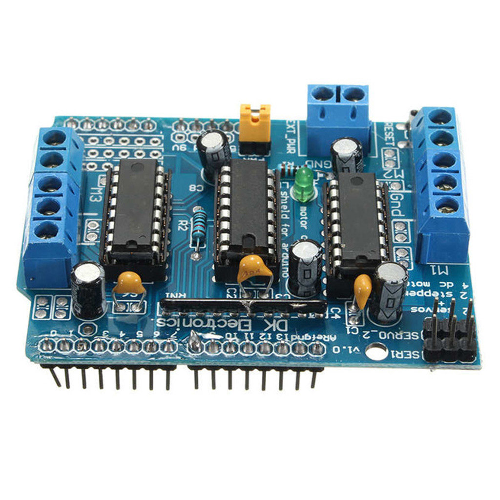 Motor Driver Board(used to Drive 4 DC Motors)